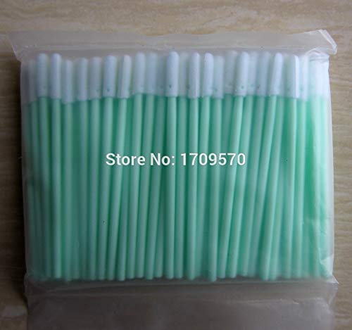 Printer Parts 500 pcs ESD Swab Foam Tip - Rounded Head