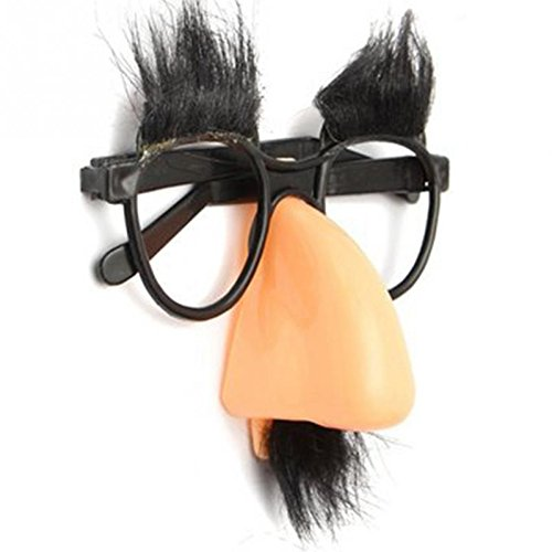 70s Fancy Dress Costumes Ideas (Fun Party Favor Glasses Fake Nose Eyebrow Clown Fancy Dress up Costume Props -Pier 27)