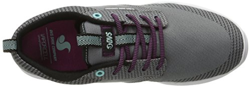 DVS Shoes Women's Premier WOS Skateboarding Shoe, Grey Jacquard Grey Jacquard