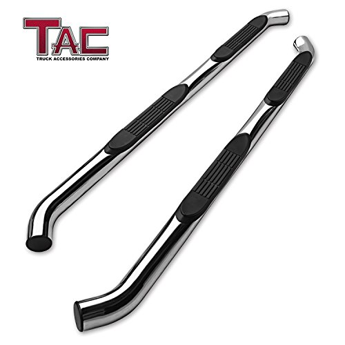 TAC Side Steps Fit 2005-2019 Toyota Tacoma Double Cab Pickup Truck 3