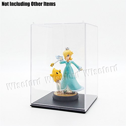 Tingacraft AcrylicDisplayCase/Box(3.8 x 3.8 x 5.5 inch) PerspexDustproofShowCase for 3.75 inch Action Figure Golf Ball Medal (Figurine Display Case Amiibo compare prices)