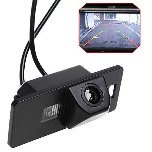 YDZN Car Rearview Reverse Parking Camera Waterproof Night Vision For Audi A1 A3 A4 A5 A6 RS4 TT Q5 Q7 Volkswagen Passat R36