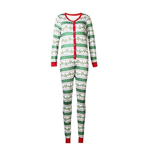 Family Matching Christmas Pajamas Set Kid Adult PJs Sleepwear Nightwear (M, - Pajamas Christmas
