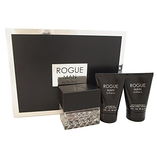 Rihanna Rogue Fragrance Set for Men by Rihanna