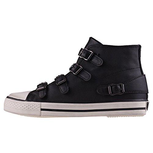 Chaussures Black Cuir Ash Femme Noir Venus Baskets en CZwqdP7
