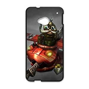 League of Legends(LOL) Corki HTC One M7 Cell Phone Case Black DIY Gift pxf005-3617436