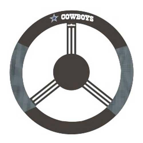 Dallas Cowboys NFL Mesh Steering Wheel (Fremont Steering Wheel Cover)