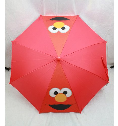 (123 Sesame Street Elmo Red Umbrella School Supplies)