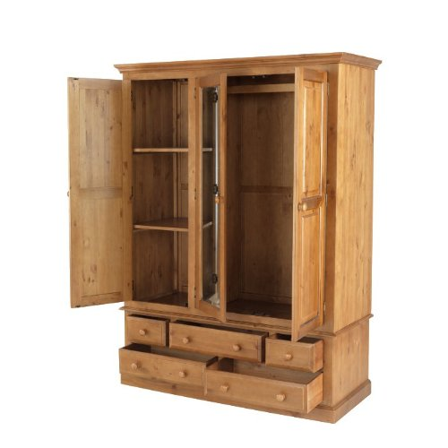 pine prod antique wardrobe ourshop triple