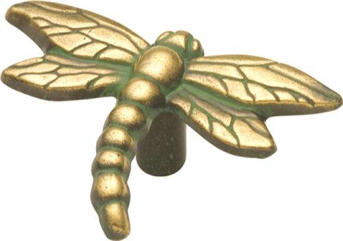 Hickory Hardware PA1512-VA 1-9/16-Inch South Seas Cabinet Knob, Verde Antique