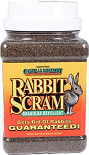 (Enviro Pro 11003 Rabbit Scram Repellent Granular Shaker Can, 2.5 Pounds)