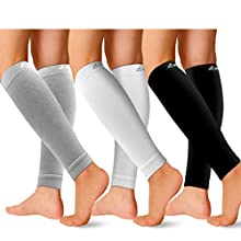 Calf Compression Sleeves for Men and Women for Sports, Running