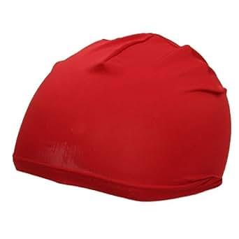 Nylon Skull Cap-Red