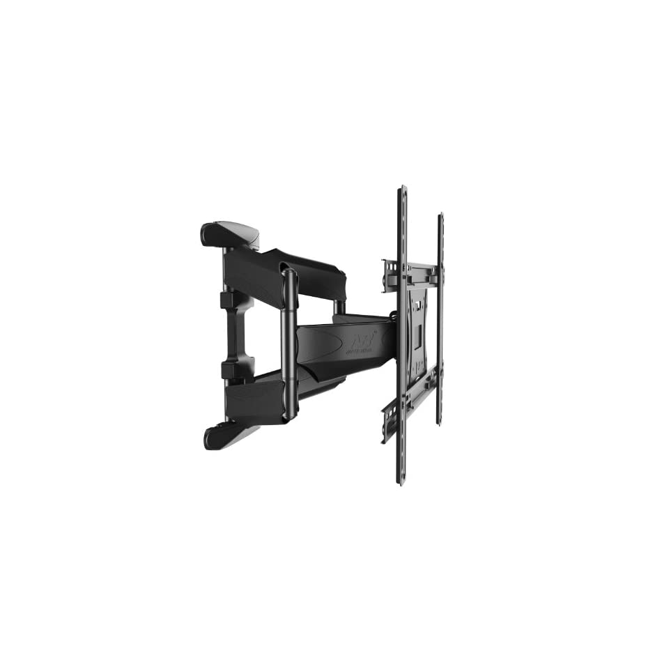 N B Lcd LED Tv Wall Mount Full Motion with Swivel Articulating Arm for 40 52 Inch Tv Monitor Flat Panel Screen in Extension and Post installation Leveling System ,Universal Wall Mounts Bracket!the Most Perfect One! Electronics