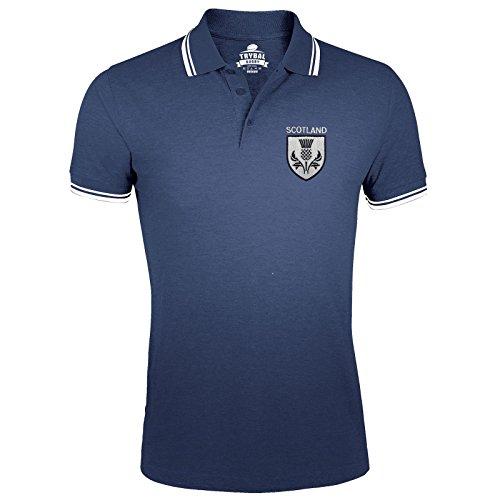 FunkyShirt - Polo - para hombre azul marino