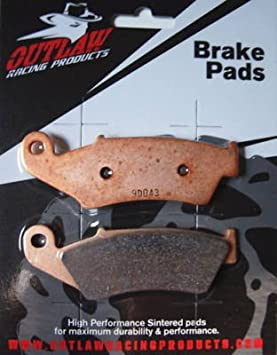 Outlaw Racing OR88 Brake Pads YAMAHA YZF600R-Rear