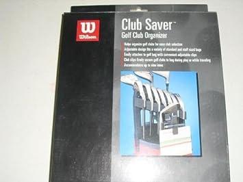 Amazon.com: Wilson Iron Holder Club de Golf Saver ...