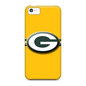 Defender Case For Iphone 5c, Green Bay Packers Pattern