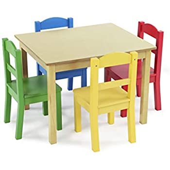 Amazon Com Kidkraft Star Table And Chair Set Kitchen