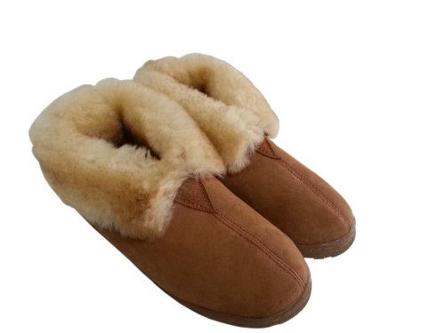 Womens Sheepskin Slipper by The Fur Traders Nevada City Slipper Style bC5eel
