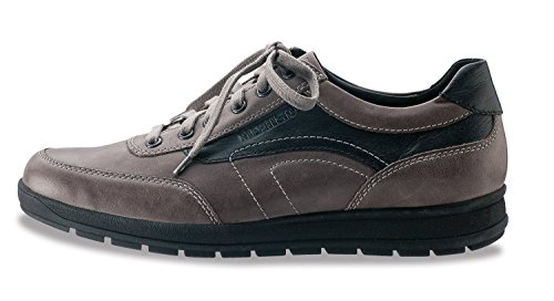 Mephisto Mens Grant Oxfords Schoenen Dark Taupe / Black Steve