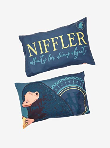 Hot Topic Fantastic Beasts and Where to Find Them Niffler Pillowcase Set (Cheap Find Sets Where To Comforter)