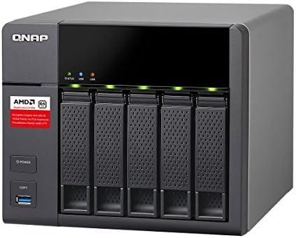 Qnap TS-563-2G 5-Bay AMD 64bit x86-based NAS, Quad Core 2 0GHz, 2GB