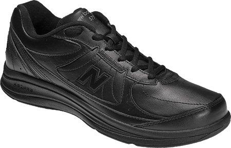 Free New Balance Men's MW577 Black Walking Shoe - 12 2E US