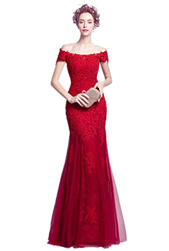 7f4572fc1d998 マーメイドドレス パーティードレス カラードレス 赤 結婚式 ベアトップ 二次会 ブライダル 花嫁 ドレス 発表
