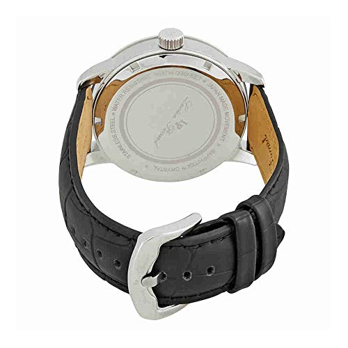 Lucien Piccard Men's LP-40019-02S-BLC Amici Stainless Steel