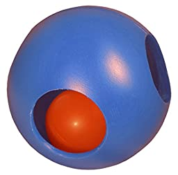 Virtually Indestructible Paw-zzle Ball for Dogs, 10-inch