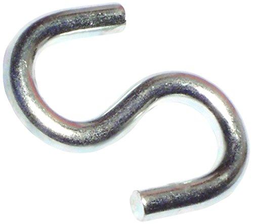 Hard-to-Find Fastener 014973156404 Open S Hooks, 1-1/2-Inch, 100-Piece
