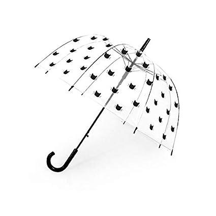 qqyz Paraguas De Helado para Niños Unicornio Transparente ...