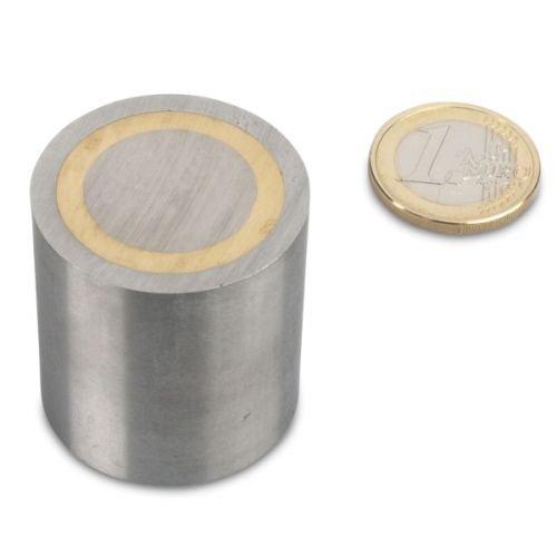 AlNiCo-Stabgreifer /Ø 32 x 35 mm Passung h6-16,3 kg Stahl