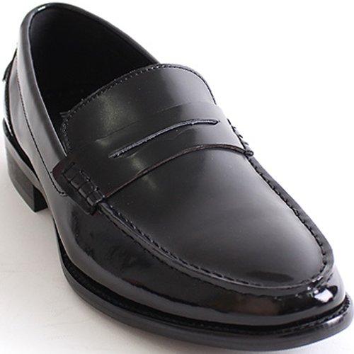 Ny Mooda Öre Loafer Klassisk Klänning Tillfälliga Mens Läder Formella Skor Svart