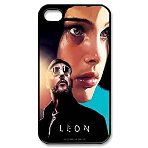 Personalized L¨¦on Iphone 4,4S Cover Case, L¨¦on DIY Phone Case for iPhone 4, iPhone 4s at Lzzcase