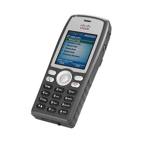 (Cisco CP-7925G-A-K9 Unified Wireless IP Phone, 1 x Sub-mini phone Headset, 1 x Mini Type B USB - 6Phoneline(s) - Handheld (CiscoCP-7925G-A-K9)