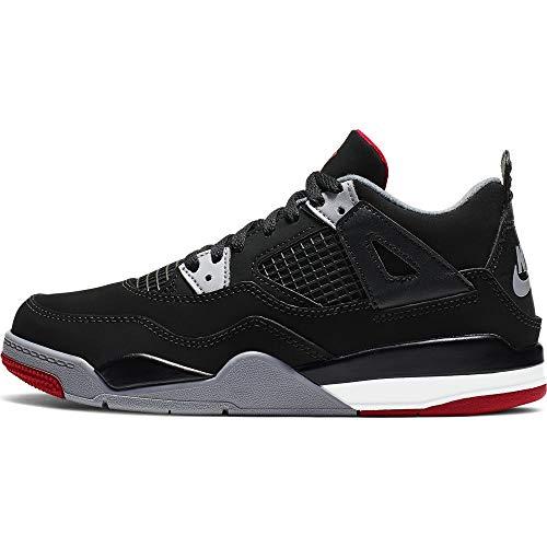 Air Jordan 4 Retro Preschool Boy's Basketball Shoes #BQ7669-060 (Jordan Retro 4 Boys)