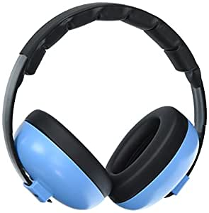 BUENAVO Baby Earmuff Noise Reduction Comfortable Headband Infant Noise Cancelling Headphone for Baby and Toddlers Outdoor Safety Hearing Protection (blue)