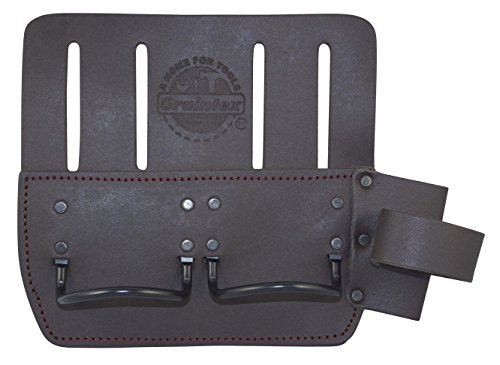 Graintex LH2449 Multi Tool Metal Hammer Holder Oil Tanned Leather by Graintex