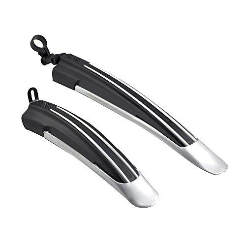 Eizur 1 Set Fahrradschutzbleche Vorne + Hinten Schutzblech Kotflügel Mountainbike Schlamm Wachen Festem Kunststoff MTB Mud Guard für Rad Gummireifen Multi-Farben