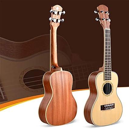 BASDW UK-70 ukelele pequeña de cuatro cuerdas de la guitarra ...