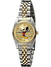 Disney Women's MM0061 Two-Tone Mickey Mouse Watch with Date Movement
