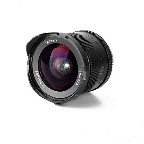7artisans 12mm F2.8 APS-C Manual Fixed Lens for M4/3 Mount Cameras Panasonic G1 G2 G3 G4 G5 G6 G7 GF1 GF2 GF3 GF5 GF6 GM1 Olympus EMP1 EPM2 E-PL1 E-PL2 E-PL3 E-PL5