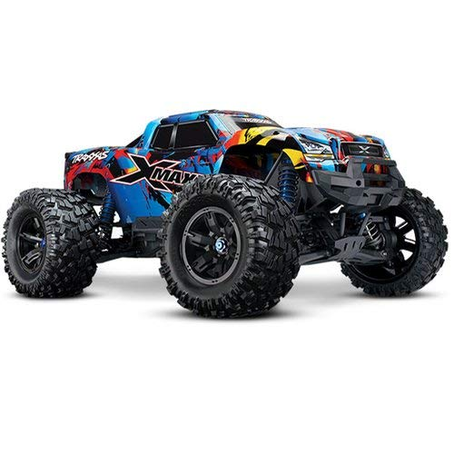 Traxxas E-maxx Brushless - Traxxas X-Maxx: Brushless Electric Monster Truck with TQi Link Enabled 2.4GHz Radio System & Traxxas Stability Management (TSM)