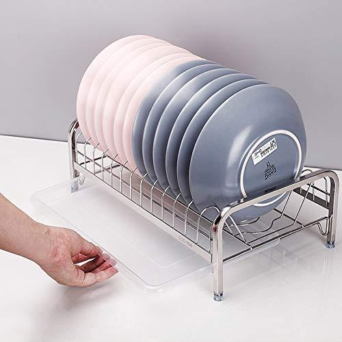 Kitchen Storage Shelf Storage Racks Wall Pot Rack Storage Basket Shelf Baskets Oven Stand 304 Stainless Steel Single-Layer Dish Rack Drain Rack White 244114cm ZHAOYONGLI by ZHAOYONGLI-shounajia (Image #4)