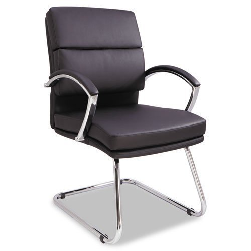 alera-neratoli-series-slim-profile-guest-chair-black-soft-leather-chrome-frame-by-mot