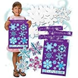 Color Diffusing Paper Snowflakes Kit