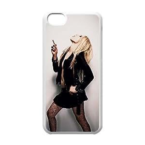 Custom Hard Protective Cover Case for Iphone 5C Phone Case - Avril Lavigne HX-MI-044633