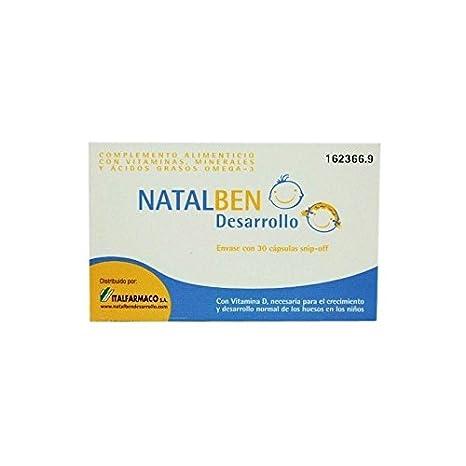 NATALBEN DESARROLLO 30 CAPS